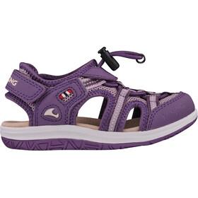 Viking Footwear Thrilly Sandalias Niños, violeta